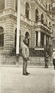 A Sikh policeman in Shanghai