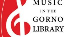 music in the Gorno Library
