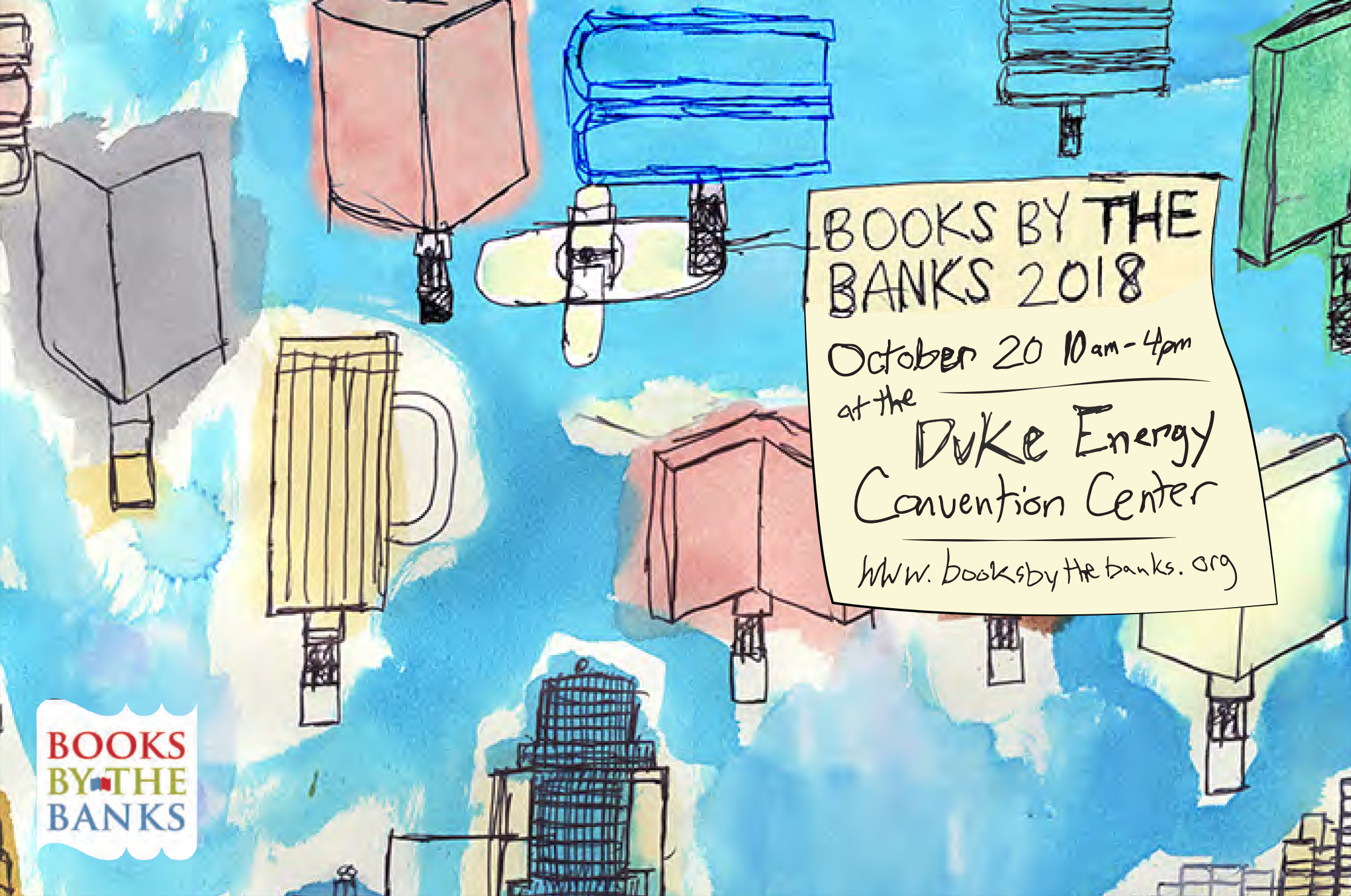 books by the banks graphic