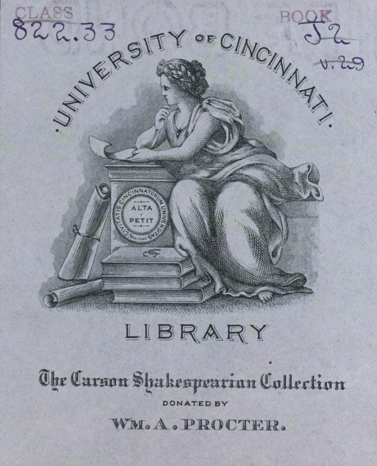 carson bookplate