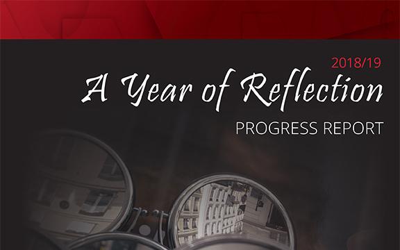 progress report graphic