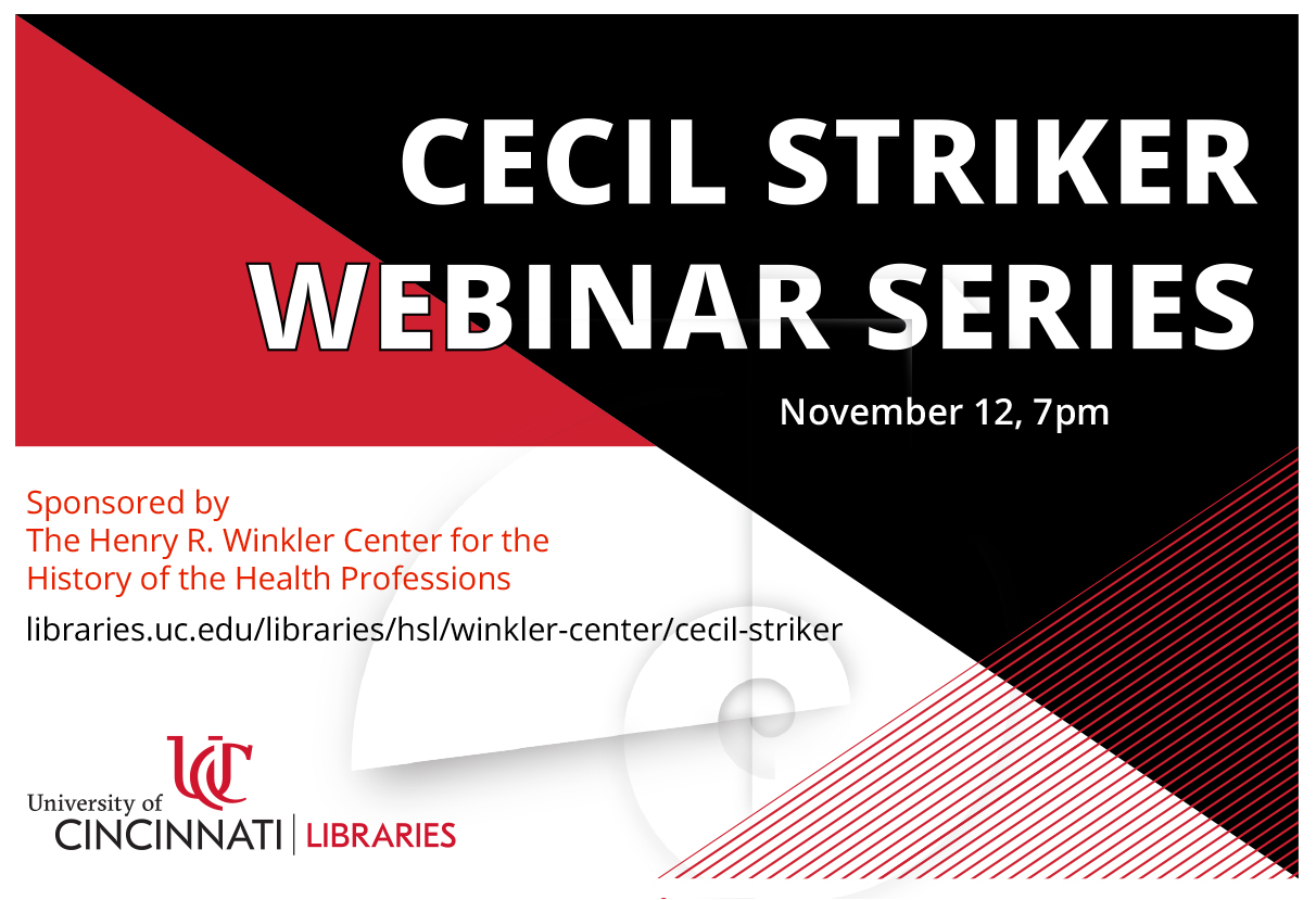 cecil striker webinar series