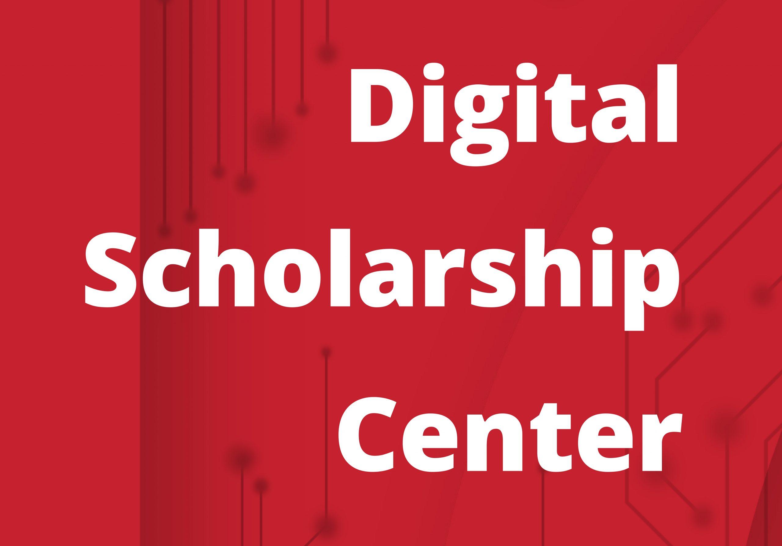 digital scholarship center graphic