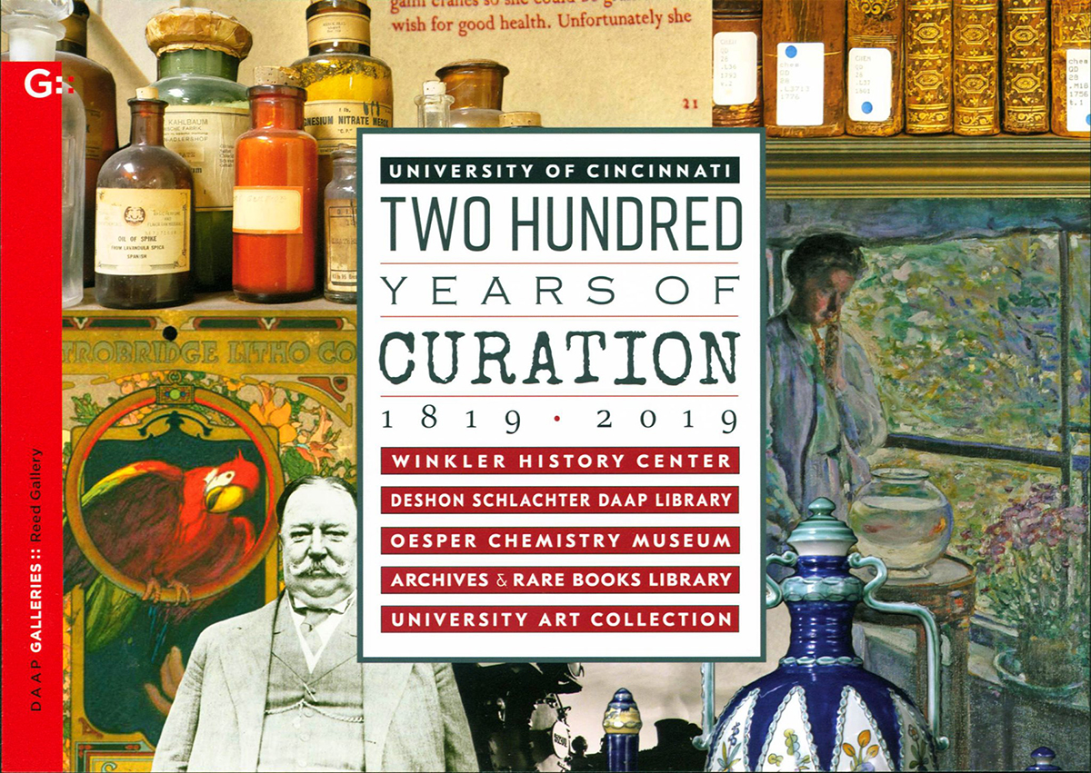 two hundred years of curation exhibit graphic